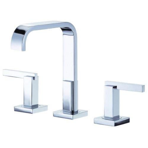 Danze D304644 Sirius Two Handle Mini-Widespread Lavatory Faucet, Chrome - Sirius Sink Faucet