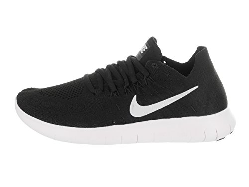 Mujer Flyknit 2017 Wmns Nike White RN para Black Running black de Free Zapatillas Trail qcA6TH