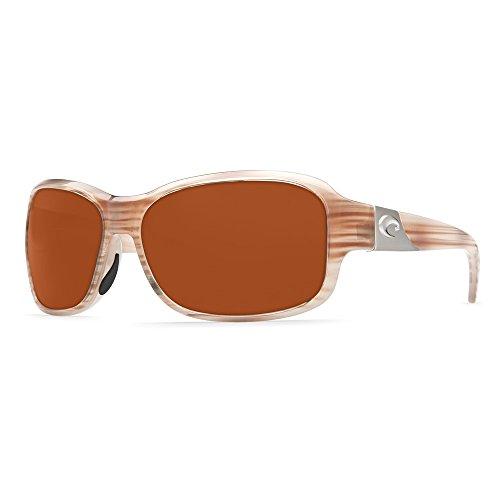 Costa Del Mar Inlet Sunglasses, Morena Fade/Copper 580 Plastic - Clear Costa Mar Sunglasses Del