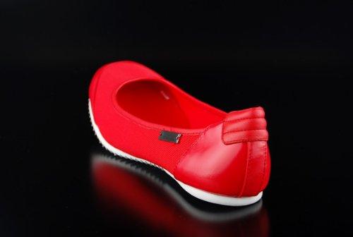 Adidas slvr Ballerina French Olympics Red rojo - rojo
