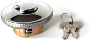 40mm Universal Chrom Tankdeckel Tankschloss Für Mofa Moped Mokick Mit Bajonett Verschluss Auto