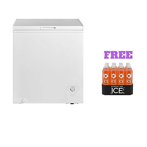 Arctic King Freezer (5.0 cu ft, White with Free)