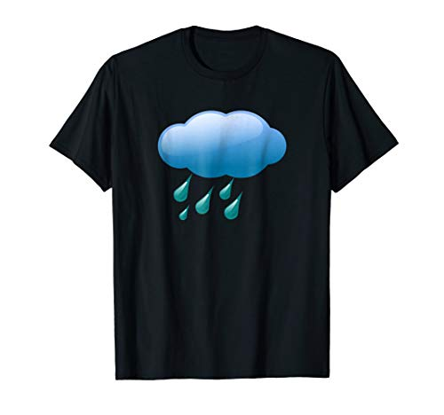 Rain Clouds Storm Showers Costume T-shirt ()