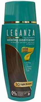 Leganza, tinte bálsamo para el cabello sin amoniaco color ...