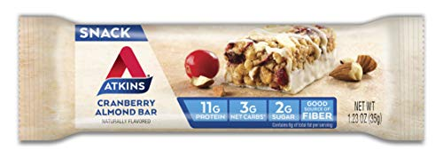 Atkins Snack Bar, Cranberry Almond, 5 Count 2