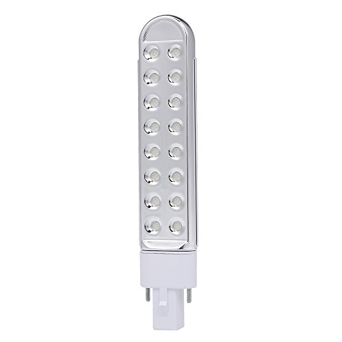 Anself UV LED Lamp Tube Light Bulb 9W Replacement Double Light Source for Nail Art Dryer