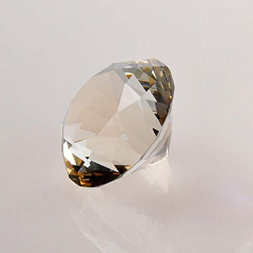 (ZAMTAC 30mm 10pcs/lot Diamond Shape Clear Crystal Rhinestone Cut Jewelry Crafts Paperweight Wedding Party Home Favours Decoration - (Color: White, Size: 30mm))