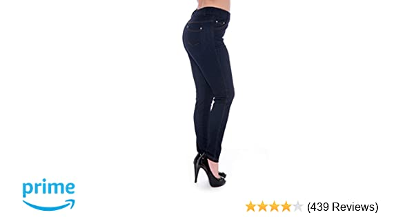 e324b26a95de6 Unique Styles Women's Basic Jeggings Leggings Stretchy 5 Pockets Pants  Regular Plus Sizes at Amazon Women's Clothing store: