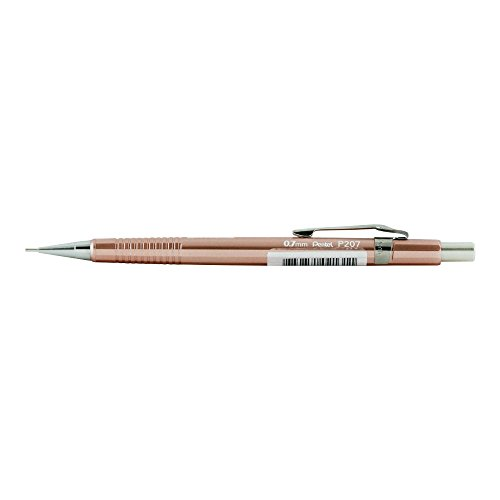 Pentel P207 Sharp Mech Pencil 0.7mm Met.Coppr (Pentel Automatic Pencil E-sharp)