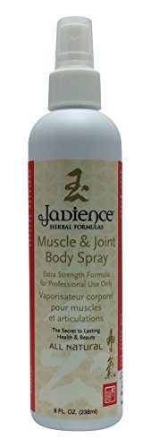 Muscle & Joint Body Spray: 8oz | Natural Pain Reliever | Increases Strength & Endurance | Soothes Sore Muscles & Joints | Fast Acting | Pre & Post Workout | Aids in Injury Prevention by Jadience