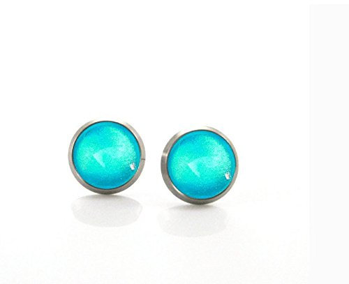 Aqua Antique Earring - 4