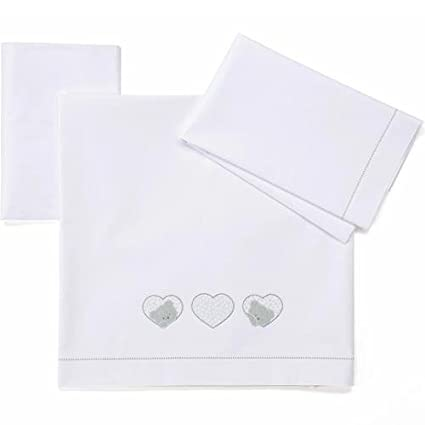 Lenzuoline per Lettino Foppapedretti Lovely 3 Pz.: Amazon.it: Prima ...