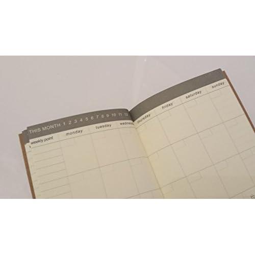 New 7X4 Pocket Size Paper Refill for Traveler's Journal Note Book (Calendar) supplier