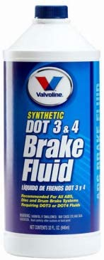 12-oz. Valvoline 601457 Dot 3 /& 4 Brake Fluid