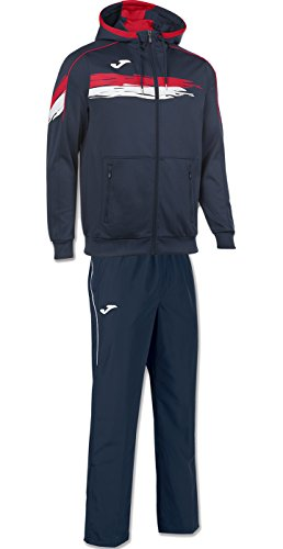 Joma picasho Tenis Chándal Chaquetas Chaleco Hombre, Navy-Red, 3XL ...