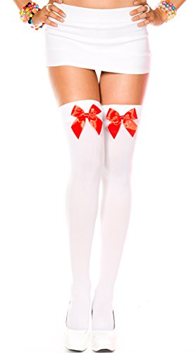 Music Legs - Camisola - para mujer White/Red