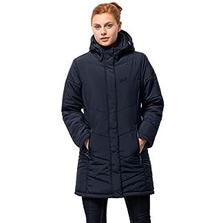 Jack Wolfskin Damen Mantel Svalbard Coat Women, midnight blue, XS 5