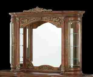 - Villa Valencia Dresser with Mirror - Aico 72060-55