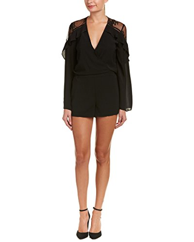 Nice Parker Womens Amber Romper, XS, Black supplier