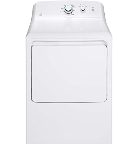 GE GTX33GASKWW 6.2 Cu. Ft. White Gas Dryer