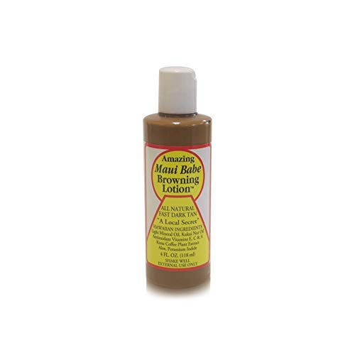 5 Pack Maui Babe Browning Lotion 4oz