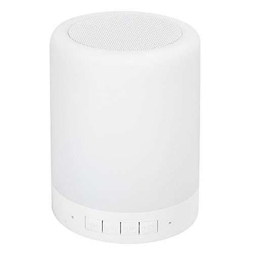 Yagosodee Kleine Bluetooth-Luidspreker Draadloze Luidspreker Met Kleurrijk Licht Home Audio-Apparatuur Dc 5V