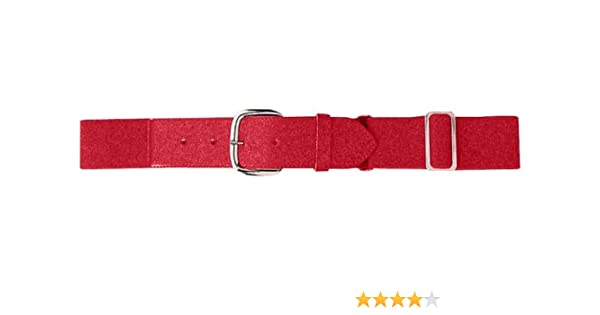 Color One Size Size Youth Elastic Baseball Belt Red
