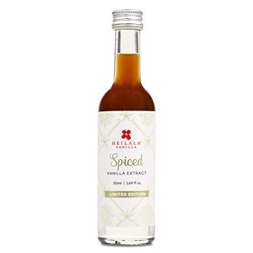 Brandy Snaps - Heilala Spiced Vanilla Extract - Pure Vanilla Extract with Mixed Spice, Sugar Free, 1.69 fl oz