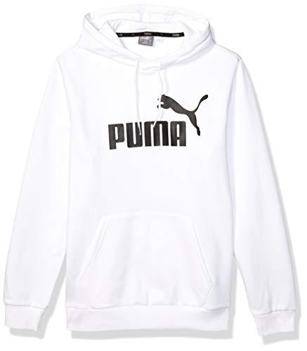 PUMA Men's Essential Hoodie Fleece Big Logo