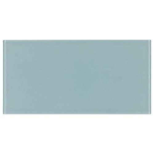 Mosaic Tile Outlet MTO0132 | Contemporary Field Tile Blue Glossy Glass Tile