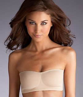 Natori Understated Wireless Contour Bandeau Strapless Bra Black ...