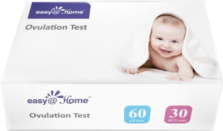 Easy@Home 60 Ovulation Tests and 30 Pregnancy Test Strips Ki