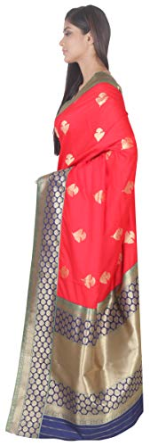 Silk Art Piace Fashion With Saree Banarasi Sf Blouse sp126598 Simaaya t5wqxvCRR