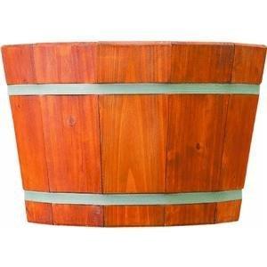 "Pennington 100045251 Barrel Tub Heartwood 12.75inx20in, 12.75"" x 20"" Brown/A"
