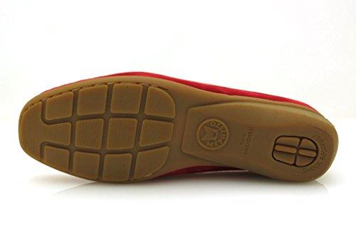 Mephisto Mocasín Mocasín De Cuero Zapatos Piel Zapatos Mujer Neida Rojo