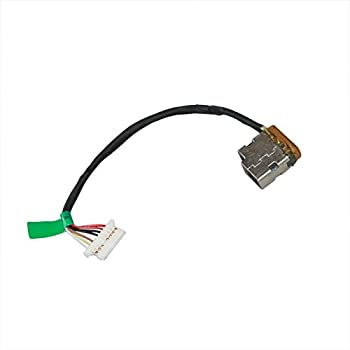 New Laptop AC DC Power Jack Plug in Socket Connector with Cable Harness for HP Pavilion 15-bs168cl 15-bs178cl 15-bs188cl 15-bs192od 15-bs193od 15-bs500 15-bs600 15t-BS000