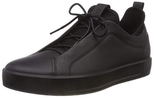 ECCO Men's Soft 8 Tie Fashion Sneaker,Black Low,47 M EU (13-13.5 US) from ECCO