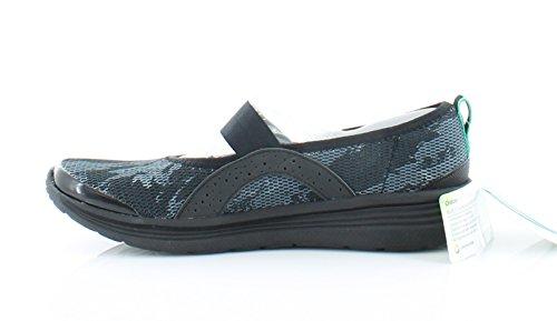 Bzees Femmes Souhaitent Eau Slip-on Chaussures Blk Impressionniste Prnt