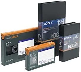 Large Sony BCT64HDL HDCAM 64 Minute Video Tape