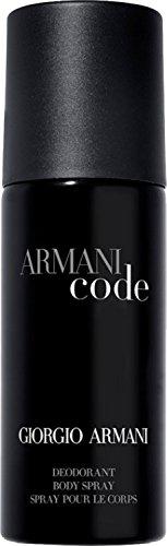 (Giorgio Armani Code Deodorant Spray for Men, 5.1 Ounce)