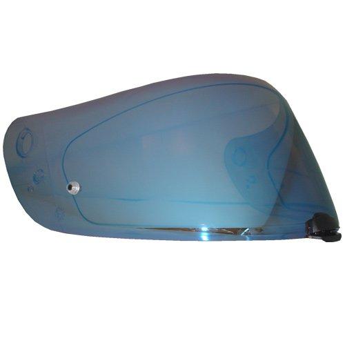 HJC Helmet Shield / Visor HJ-20M(Gold, Silver, Blue) For FG-17, IS-17, RPHA ST helmets, Bike Racing Motorcycle Helmet Accessories - Made in Korea (Blue)