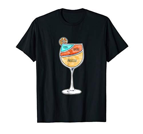 Aperol Spritz Tshirt Aperol Liquor Poster Shirt ()