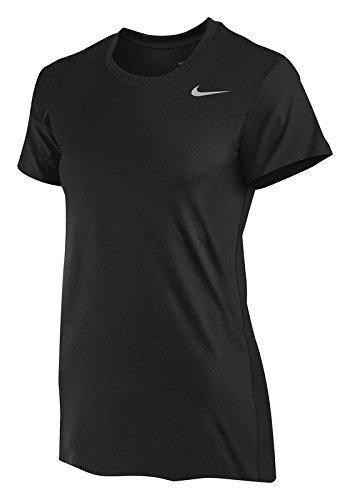 Nike Short Sleeve Women's Legend T-Shirt (Large, Black)