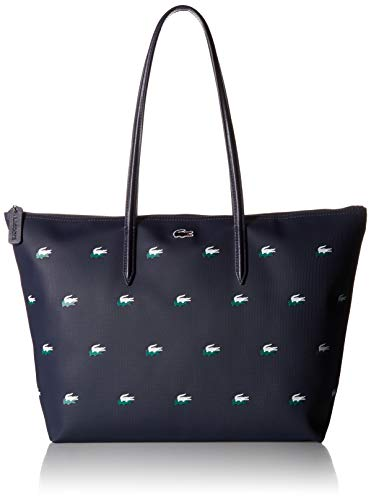 Lacoste Women's Large Shopping Bag, NF2620CX,PEACOAT CROC