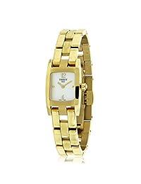 Tissot T3 PVD Steel Mother-of-Pearl Dial Women's Watch #T042.109.33.117.00