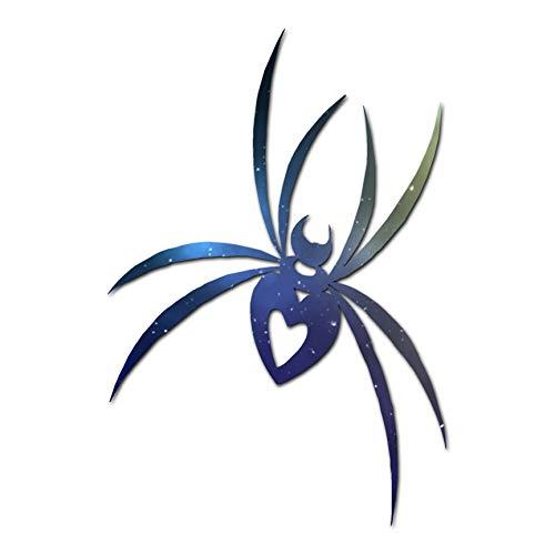 """Spider Heart - Vinyl Decal Sticker - 3.75"""" x 5.5"""" - Galaxy"""