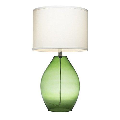 Kichler Lighting 1-light Green Glass Table Lamp by Kichler Lighting