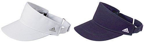 Adidas Golf Men's Performance Moisture-Wicking Visors Set_White & - Sport Buckle Performance Adidas