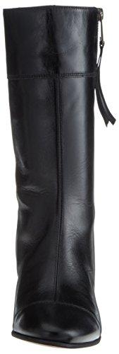 Marc O'Polo Mid Heel Medium Boot 70714187101122, Bottes Souples Femme Schwarz (Black)