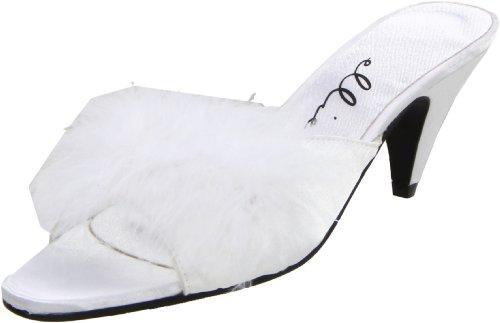 Ellie Shoes Women's Phoebe, White, 9 M US ()